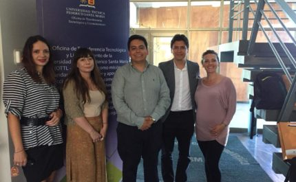 OTL of the National University of Costa Rica visits the USM